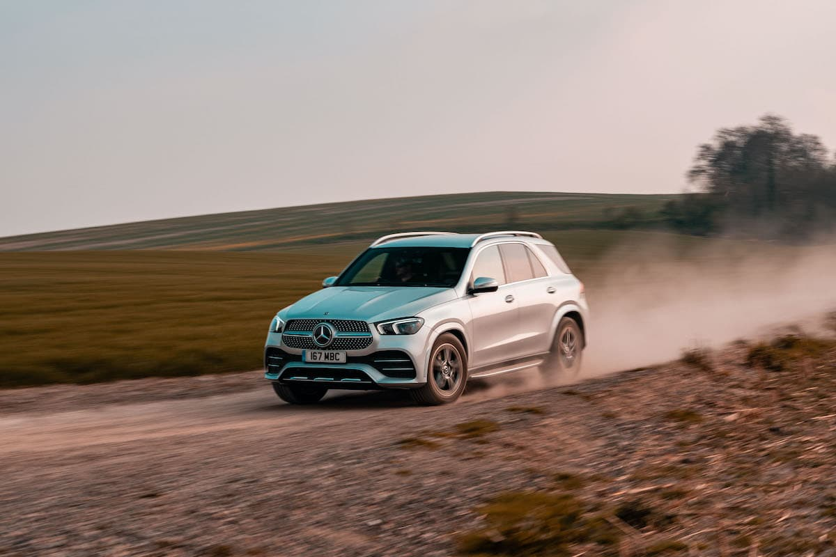 Mercedes-Benz GLE (2019 onwards) – front view