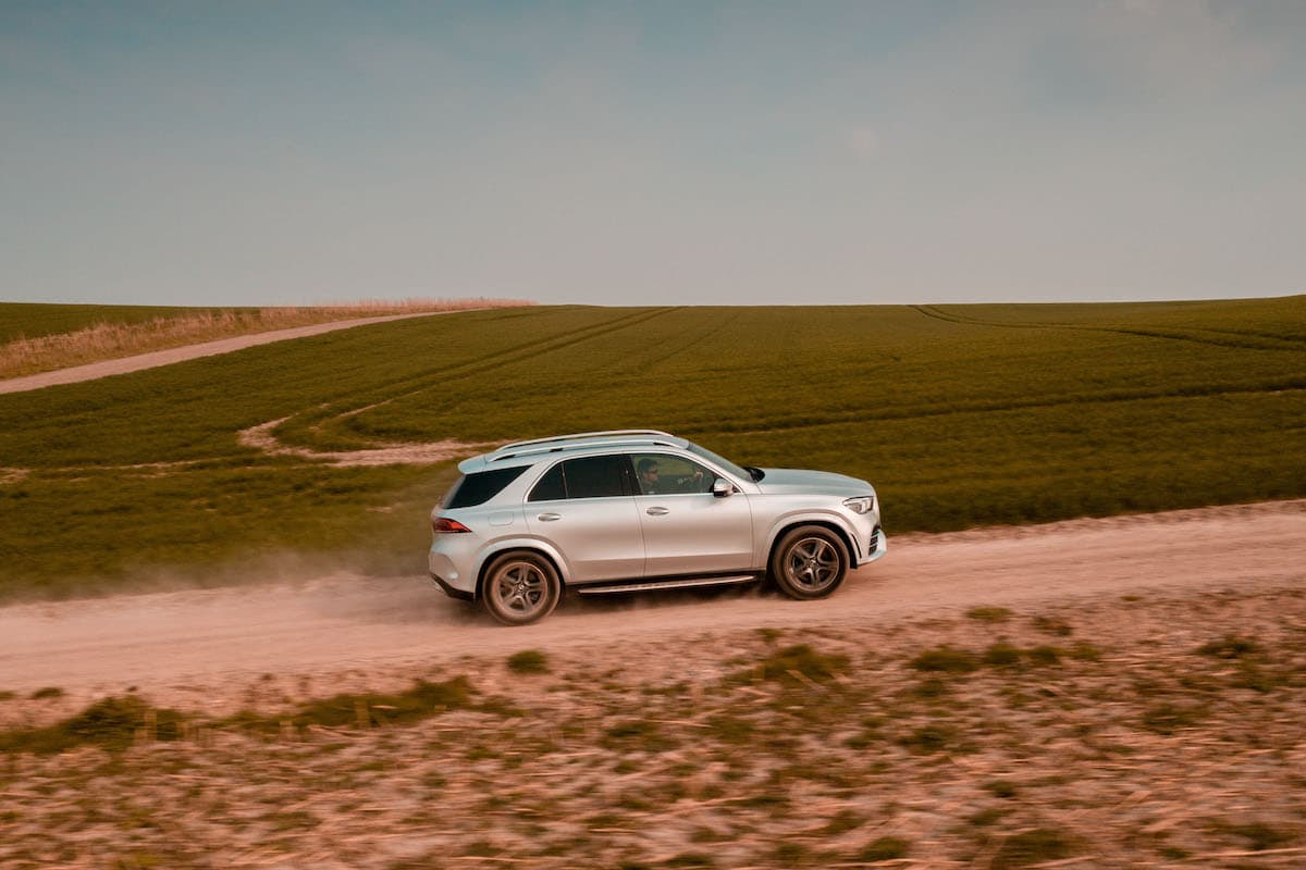 Mercedes-Benz GLE (2019 onwards) - side view