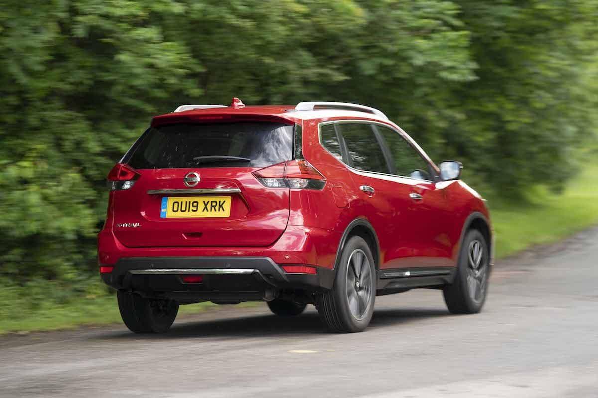 Nissan X-Trail (2014 onwards) rear