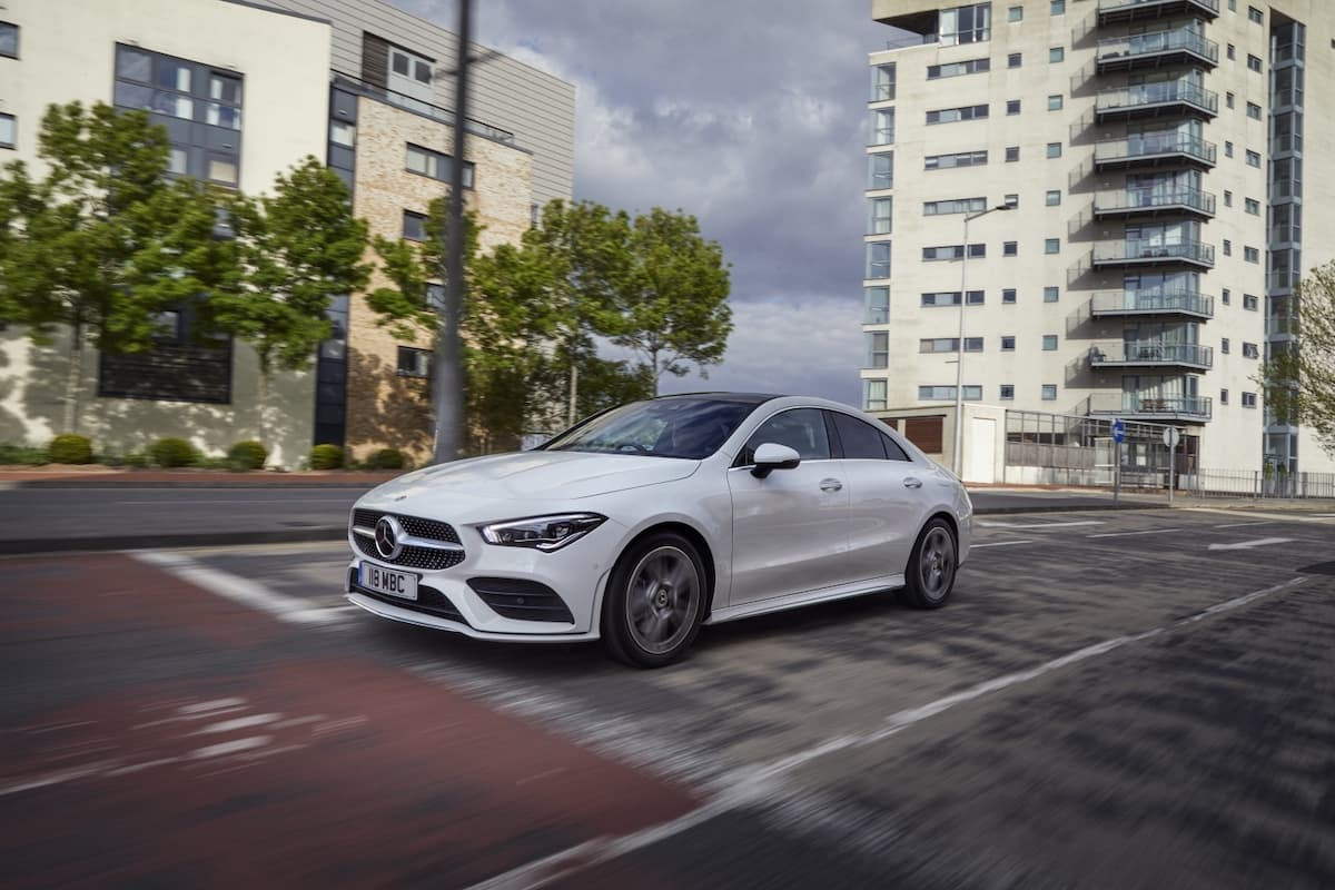 Mercedes-Benz CLA saloon (2019 onwards) – front view