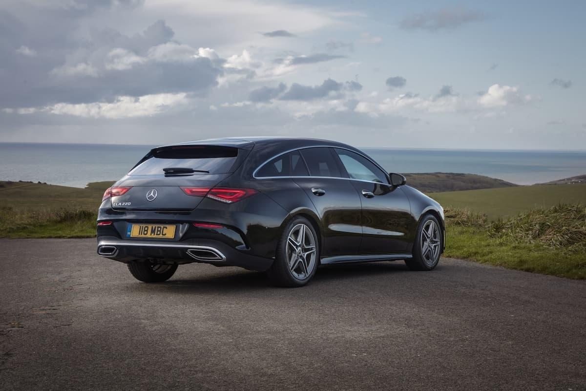 Mercedes-Benz CLA estate (2019 onwards) – rear view