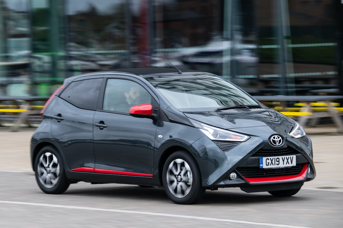 Toyota Aygo (2014 onwards) - front view