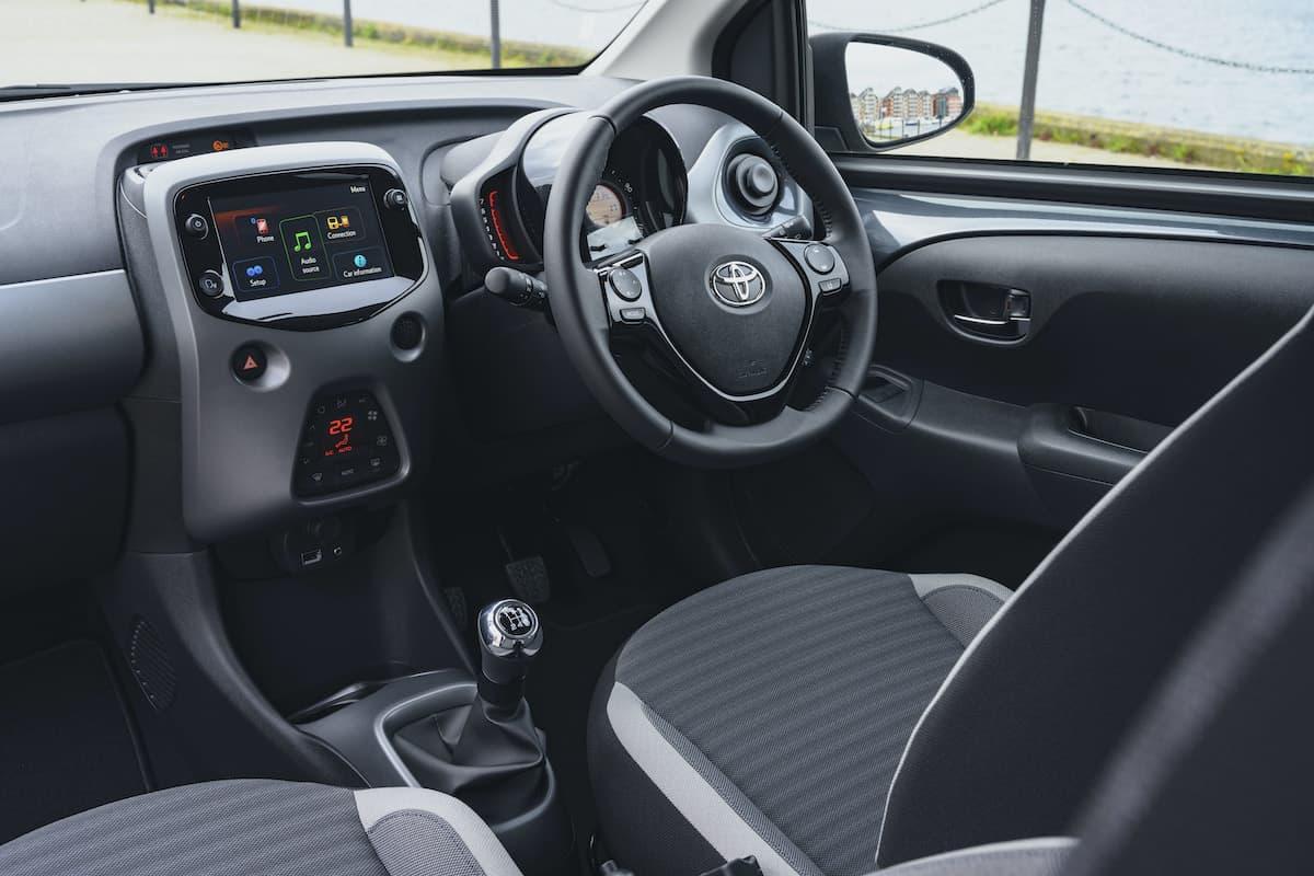 Toyota Aygo (2014 onwards) - interior and dashboard
