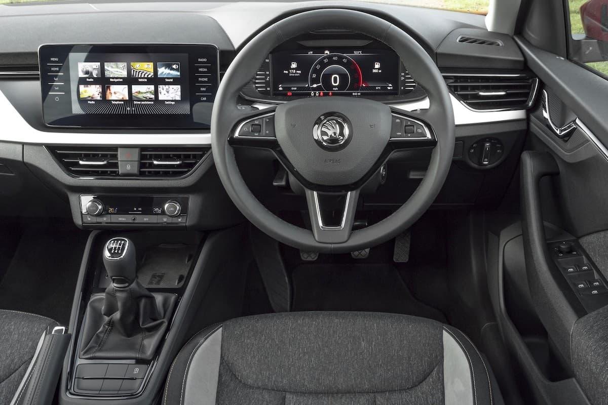 Skoda Kamiq (2019 onwards) - interior and dashboard