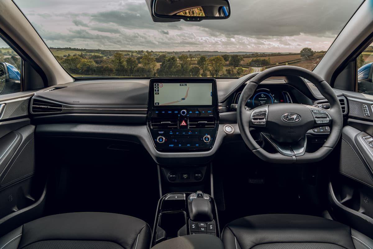 2020 Hyundai Ioniq Electric review - dashboard