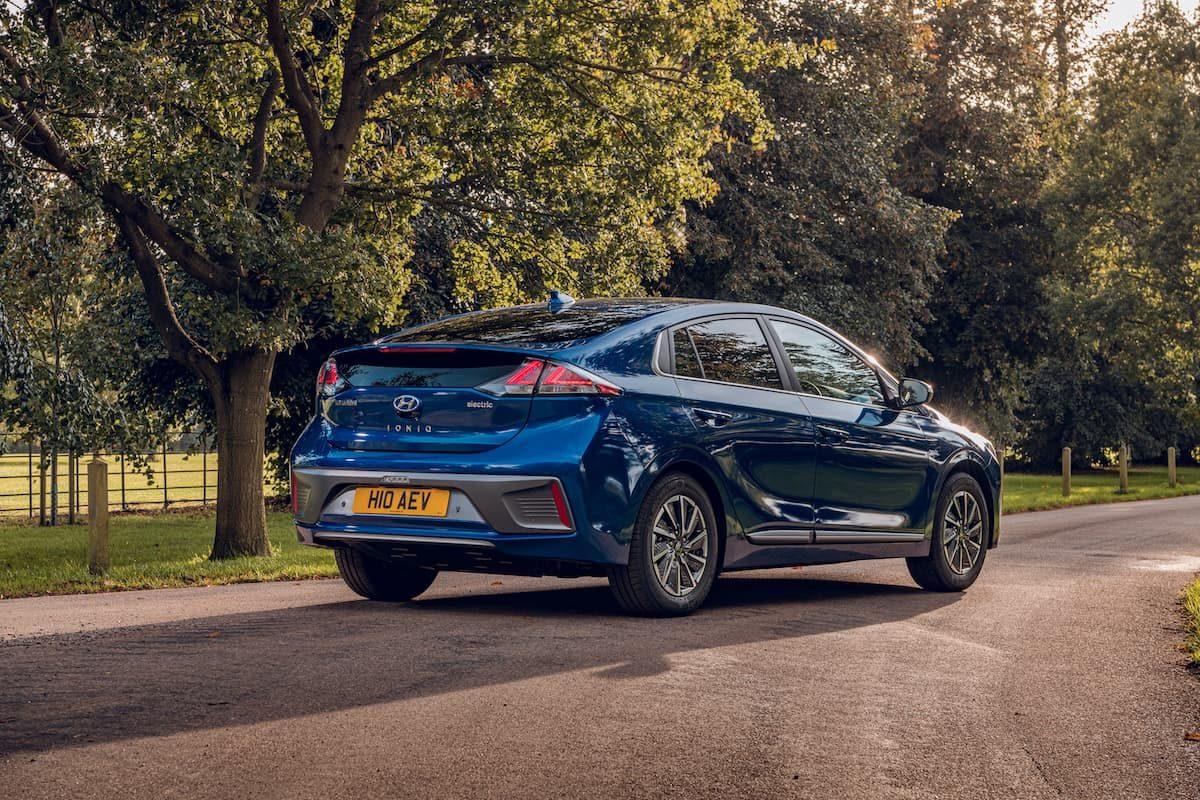 2020 Hyundai Ioniq Electric review - rear