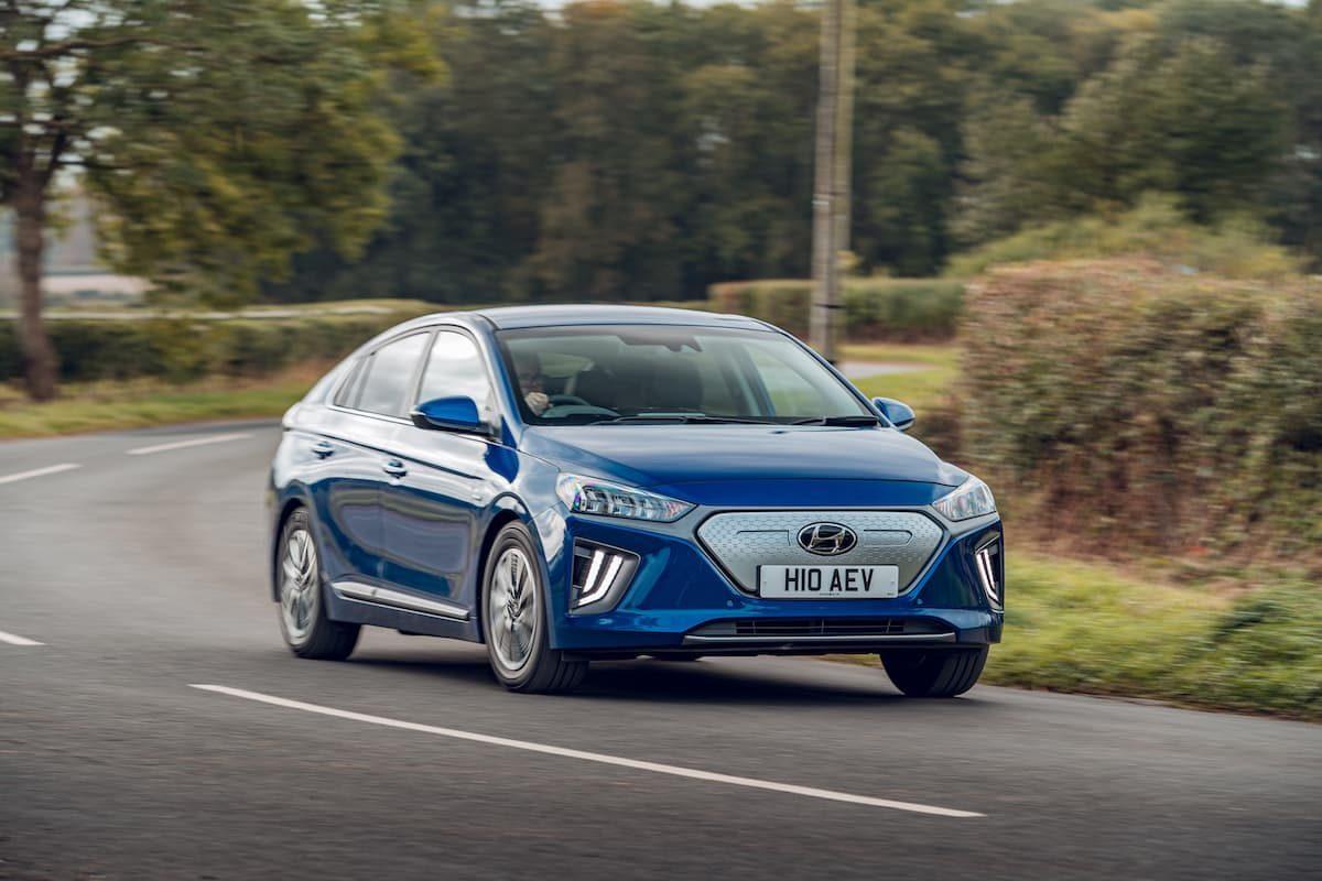 2020 Hyundai Ioniq Electric road test - front