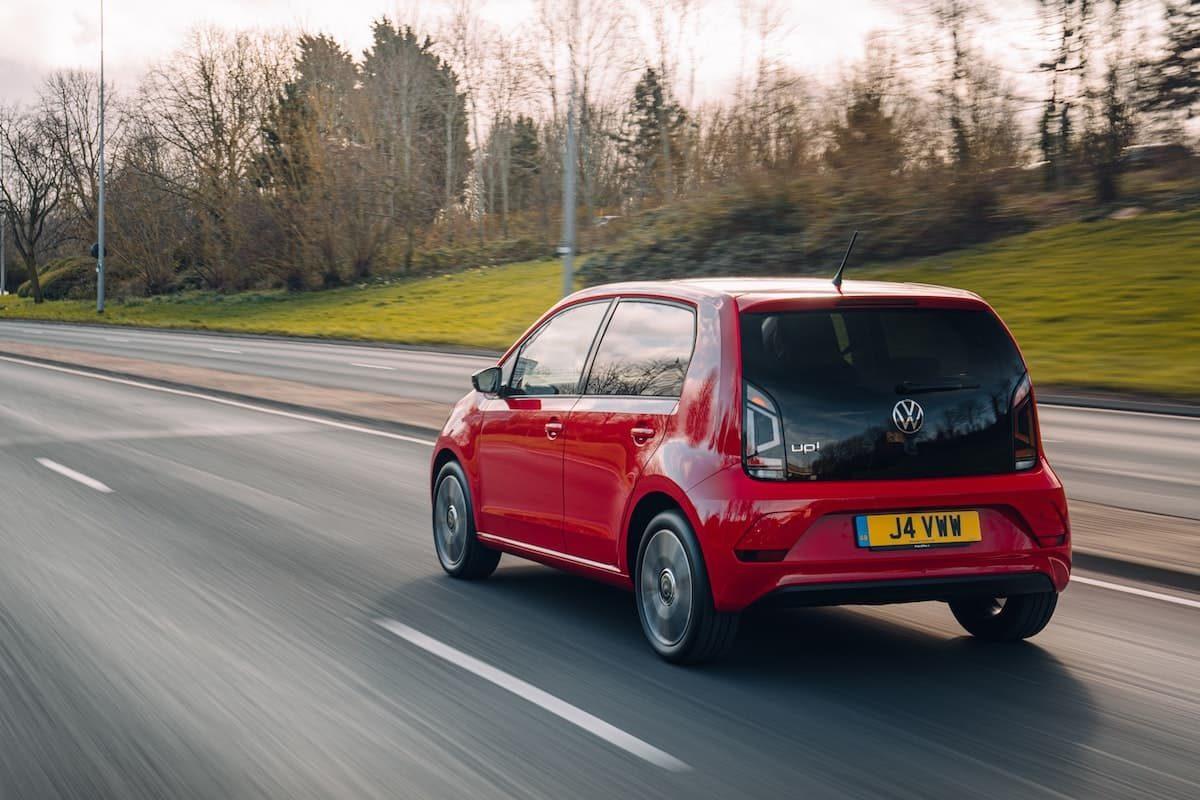 2020 Volkswagen Up! road test – rear