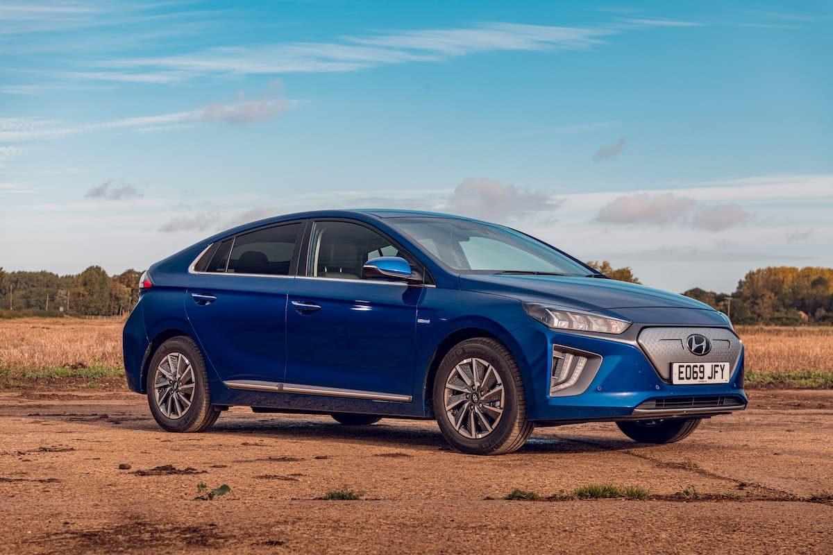 2020 Hyundai Ioniq Electric review - front