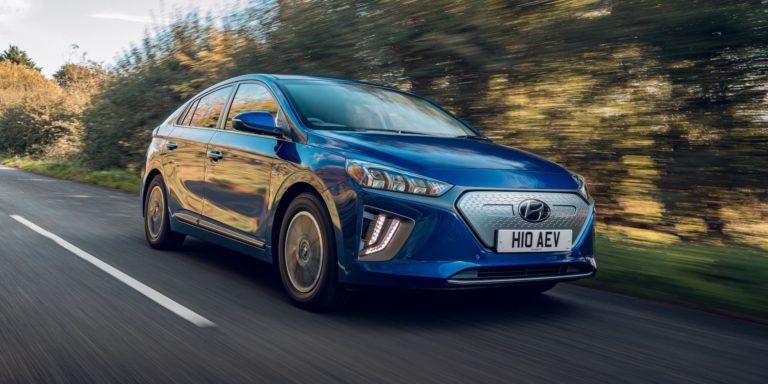 Hyundai Ioniq Electric test drive
