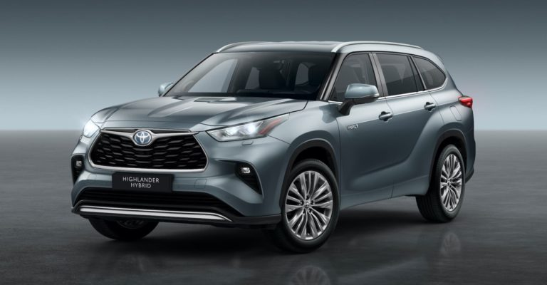 Seven-seat Toyota Highlander coming to the UK