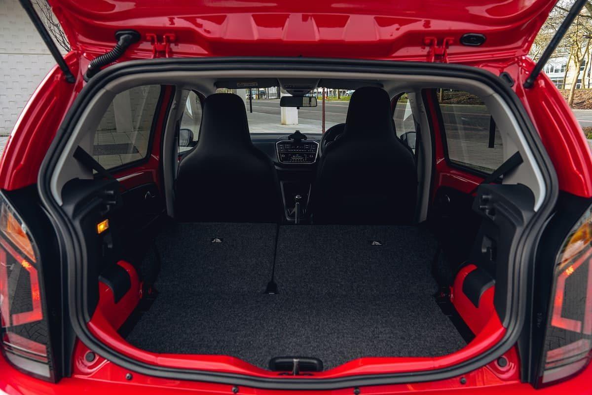 2020 Volkswagen Up! review – boot space