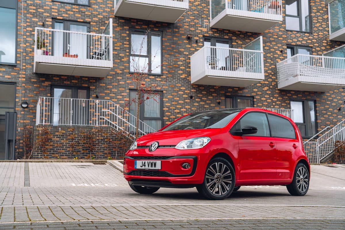 2020 Volkswagen Up! review – front
