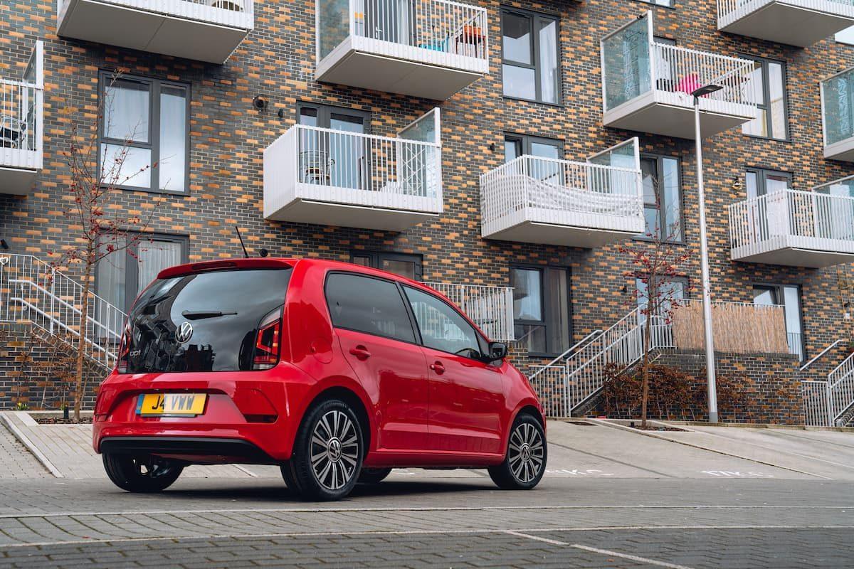 2020 Volkswagen Up! review – rear