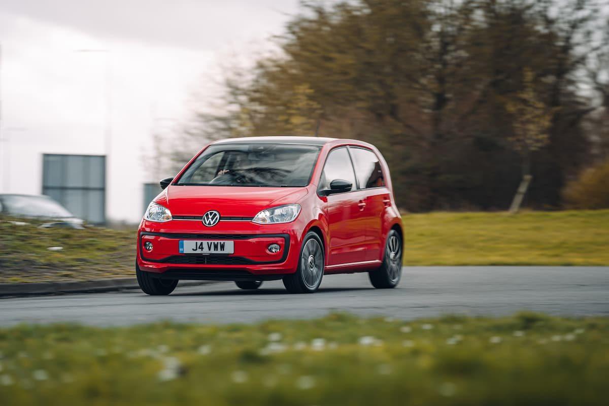 2020 Volkswagen Up! road test – front