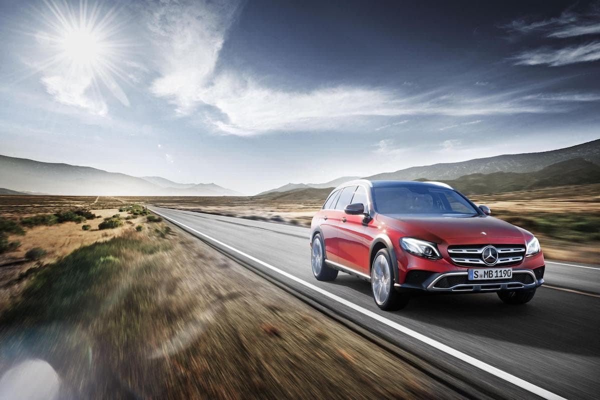 Mercedes-Benz E-Class All-Terrain (2016 - 2020) – front view