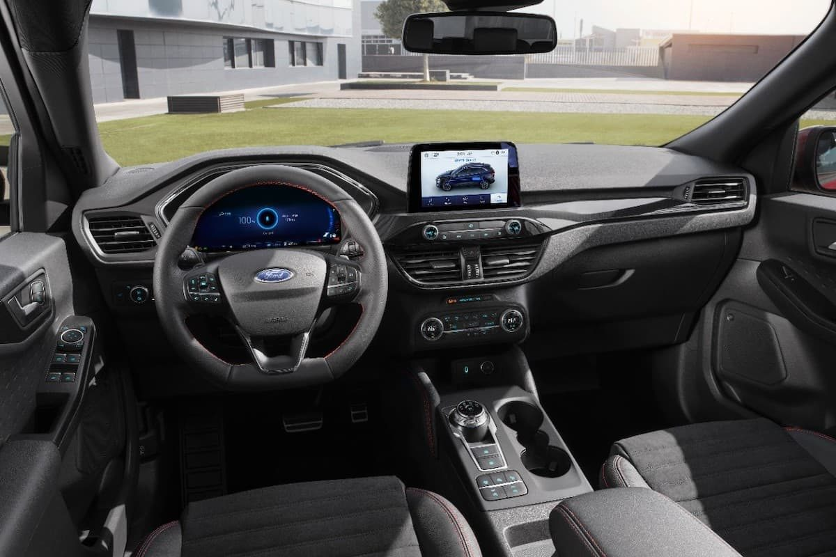 Ford Kuga (2020 onwards) - dashboard LHD
