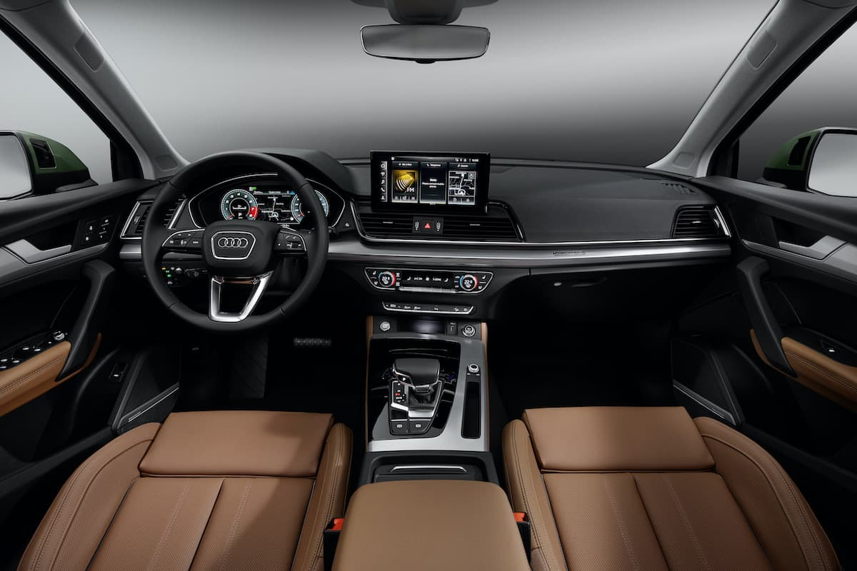 2020 Audi Q5 facelift – interior and dashboard