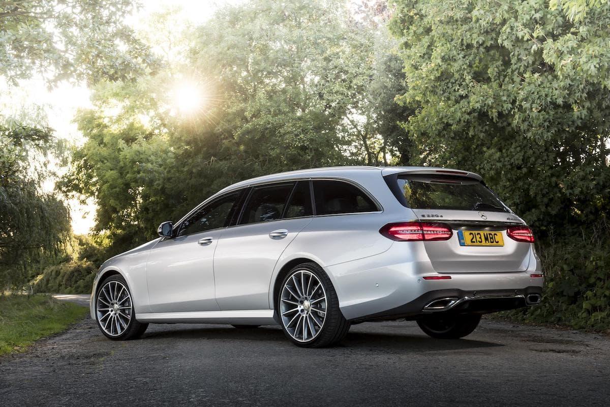 Mercedes-Benz E-Class estate (2016 - 2020) – rear view