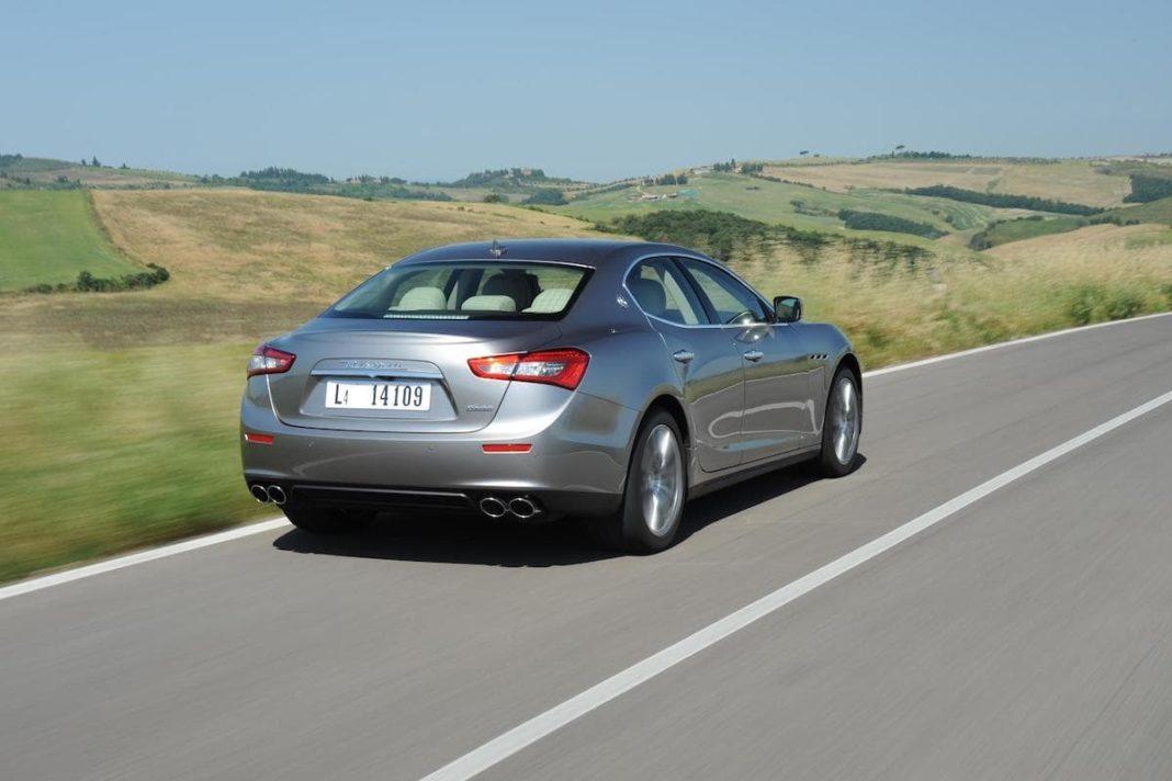 Maserati Ghibli (2013 onwards) – rear view