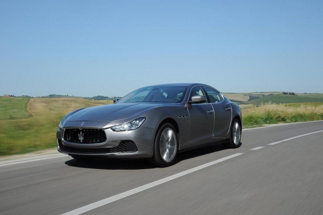 Maserati Ghibli (2013 onwards) – front view
