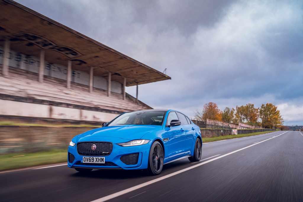 Jaguar XE (2015 onwards) - front view