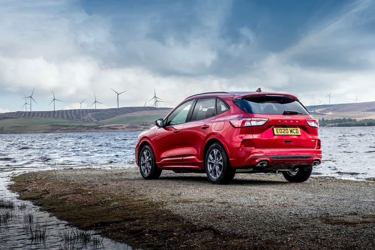 Ford Kuga (2020 onwards) - rear