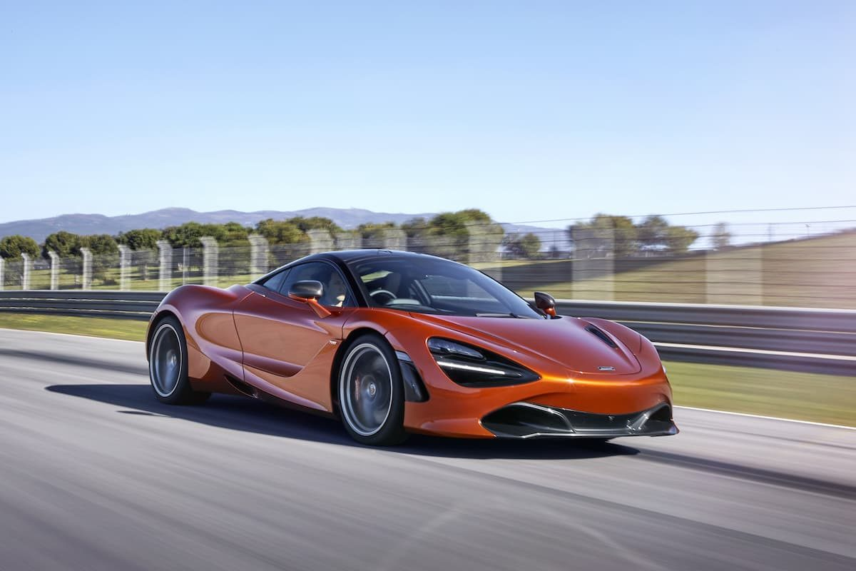 McLaren 720S (2017 onwards) - front