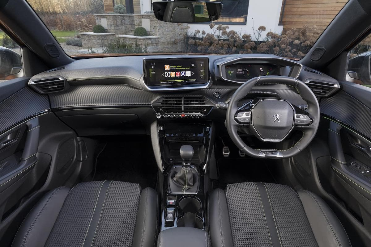 Peugeot 2008 (2019 onwards) interior and dashboard