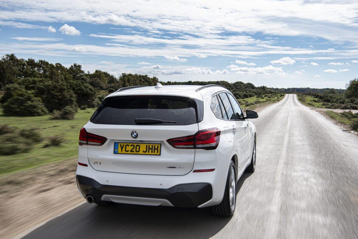 BMW X1 (2015 onwards) - rear view