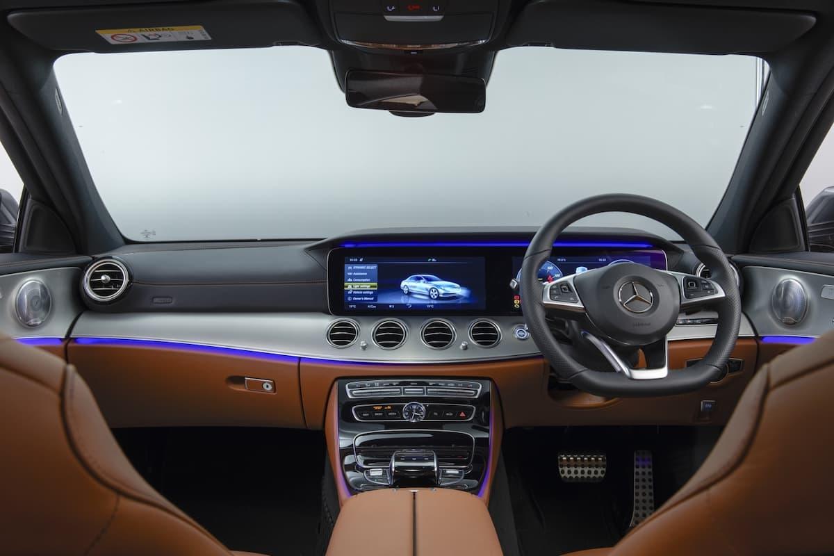 Mercedes-Benz E-Class (2016 onwards) - interior and dashboard