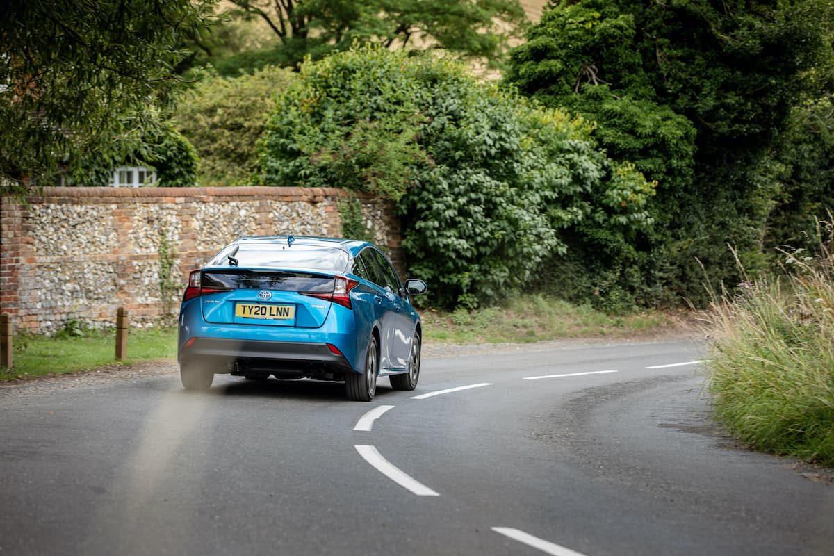 Toyota Prius (2016 onwards) - rear | The Car Expert