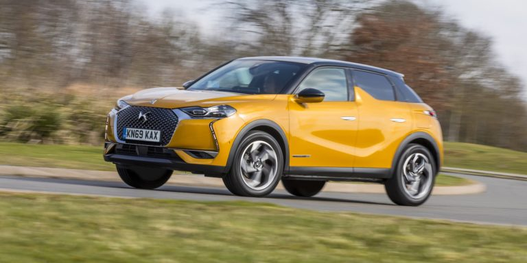 DS 3 Crossback Performance Line test drive