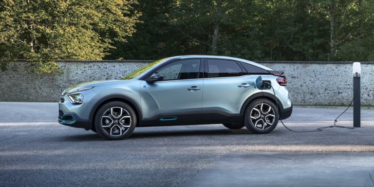 First glimpse of new electric Citroën C4