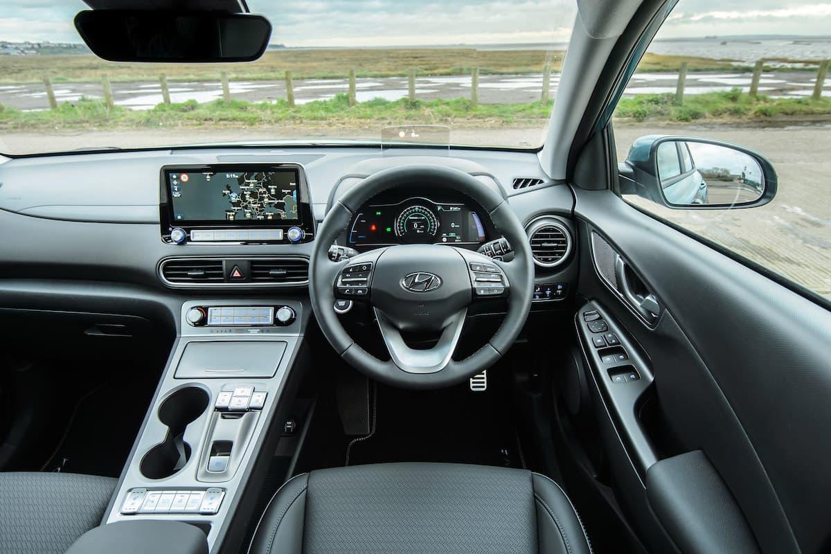 Hyundai Kona Electric (2018 - 2020) - interior and dashboard