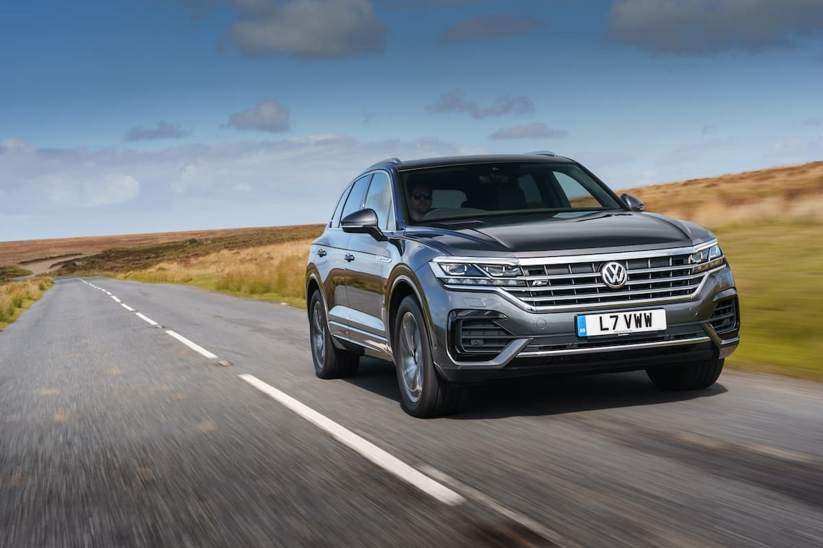 Volkswagen Touareg (2018 onwards) – front view