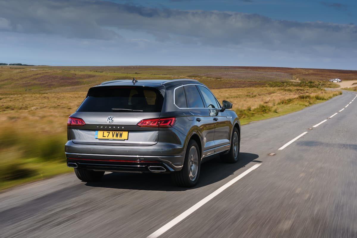 Volkswagen Touareg (2018 onwards) – rear view