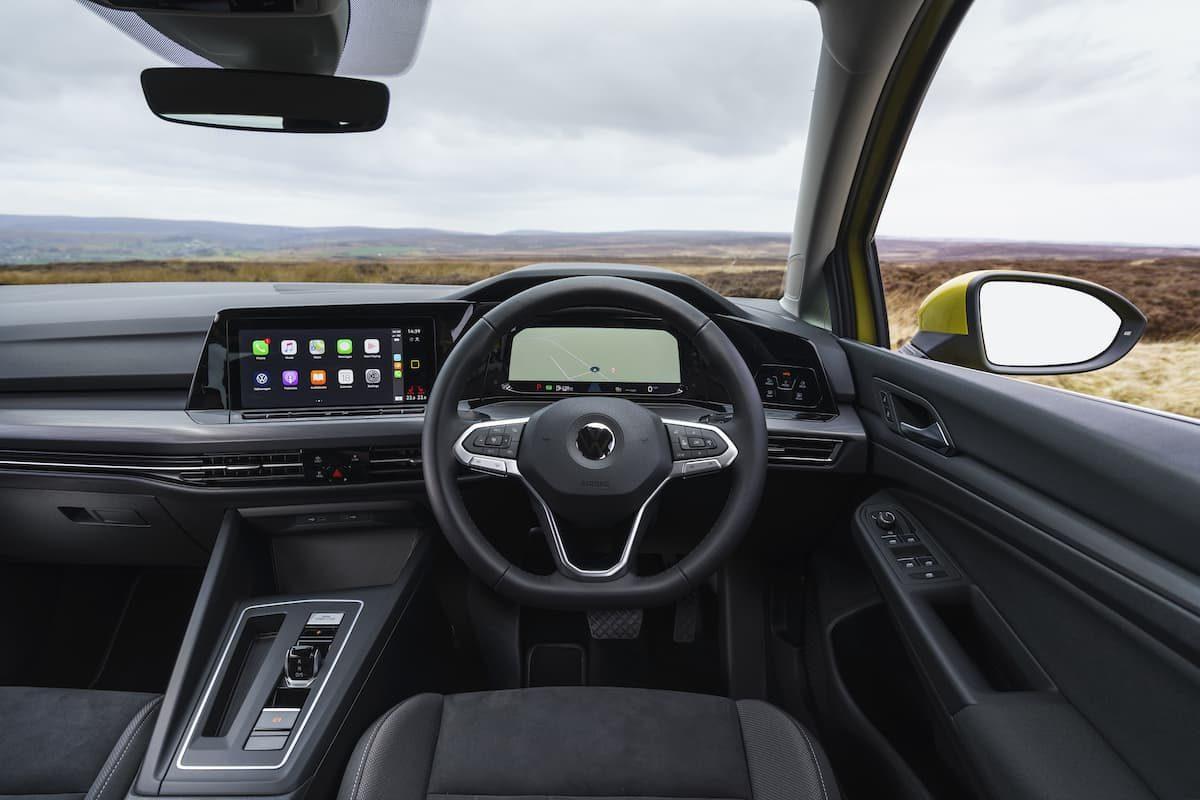 Volkswagen Golf (2020 onwards) - interior and dashboard