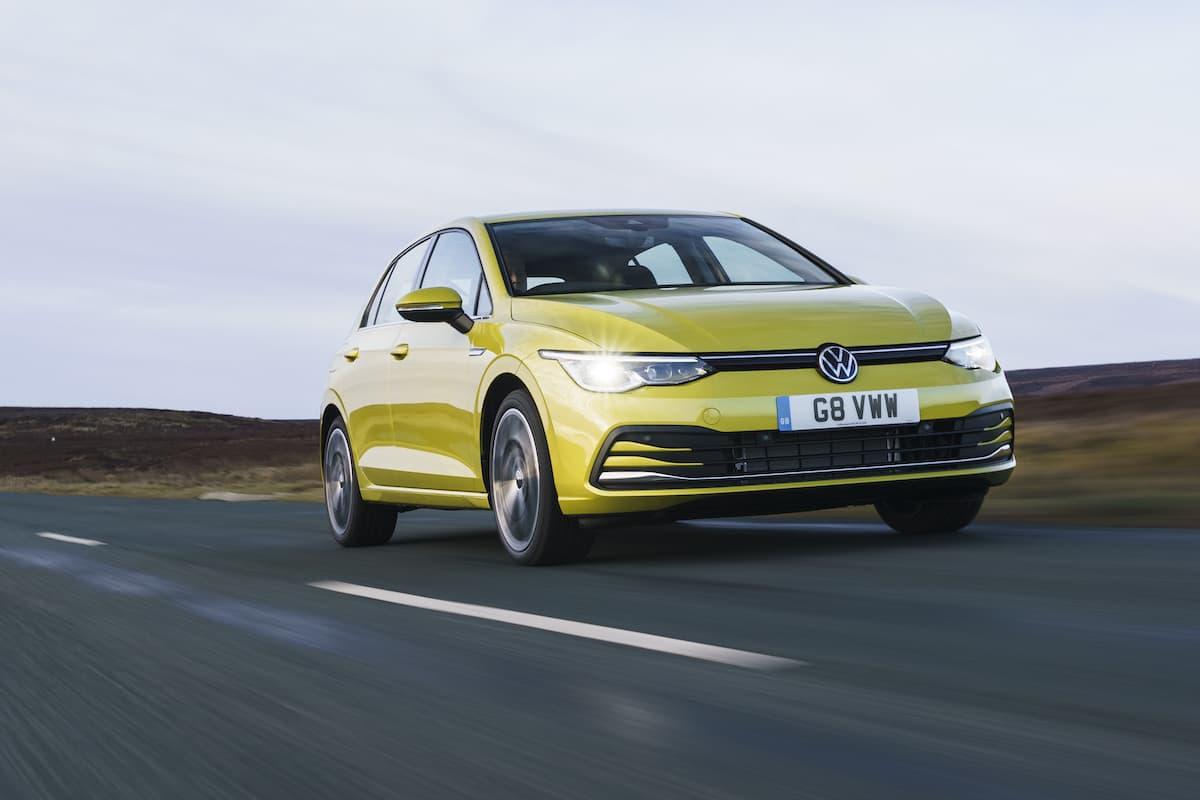 Volkswagen Golf (2020 onward) - front view