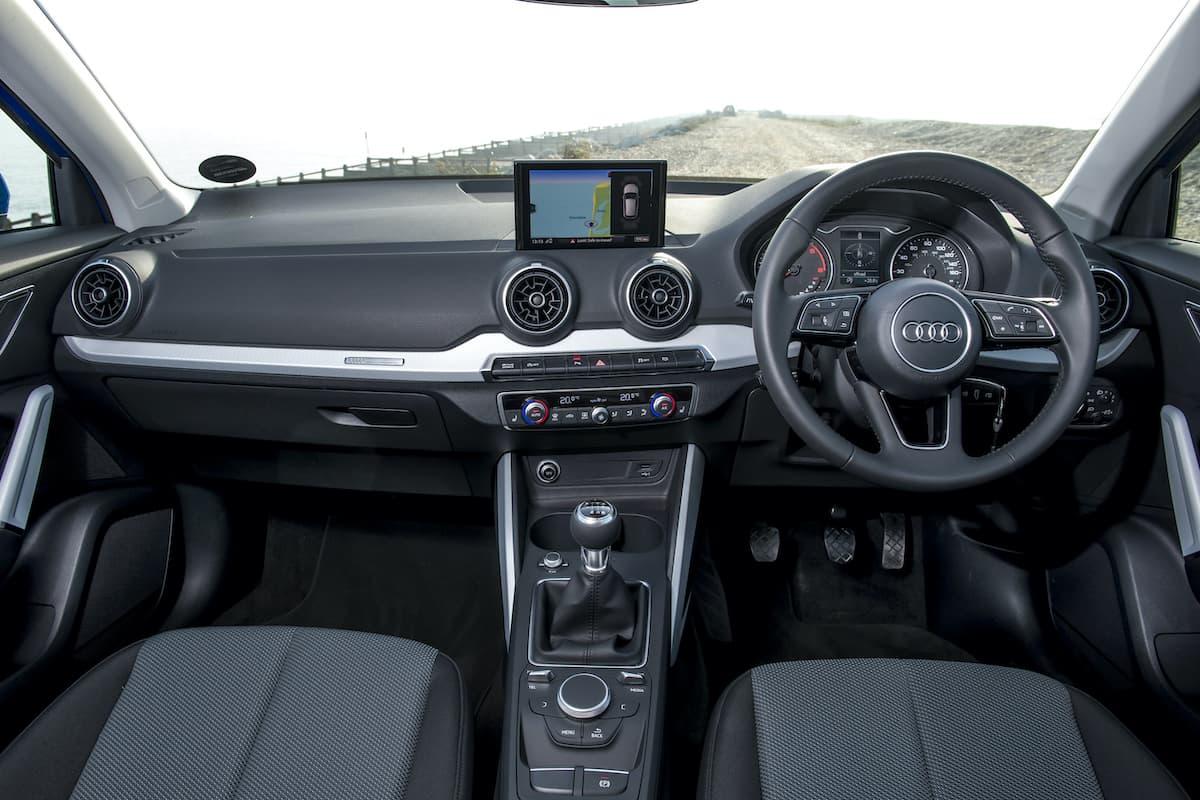 Audi Q2 (2016 onwards) - interior and dashboard