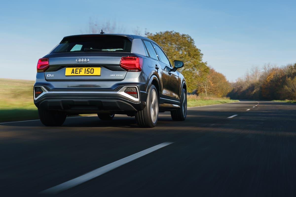 Audi Q2 (2021) - rear