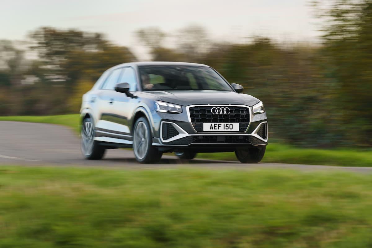 Audi Q2 (2021) - front
