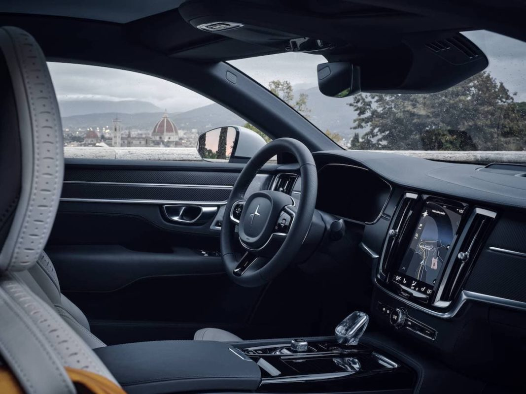 Polestar 1 review - interior and dashboard