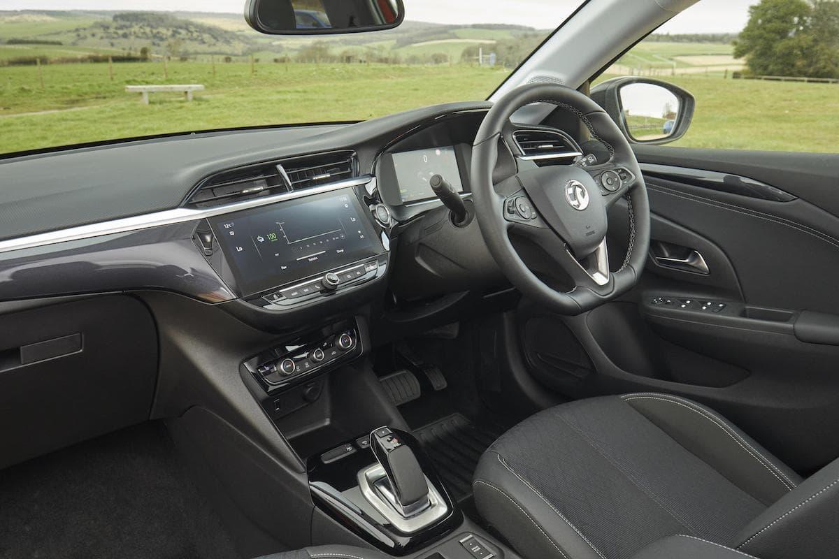 Vauxhall Corsa-e (2020 onwards) – interior and dashboard