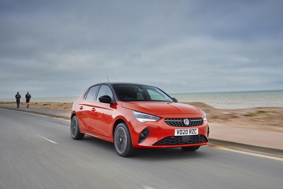 Vauxhall Corsa-e (2020 onwards) – front