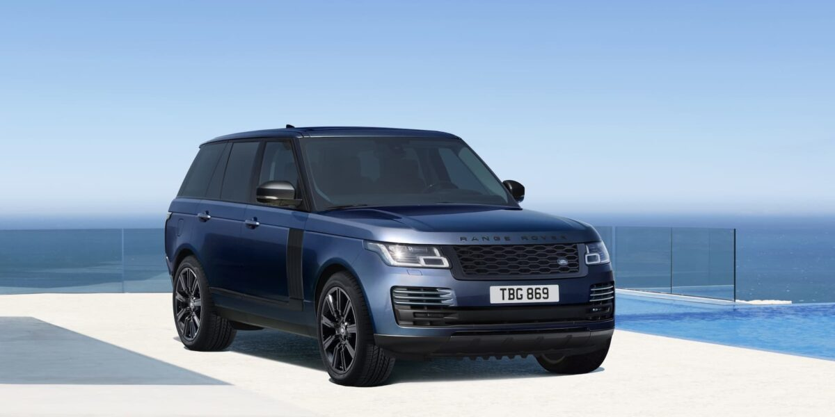 2020 Range Rover Westminster Black limited edition
