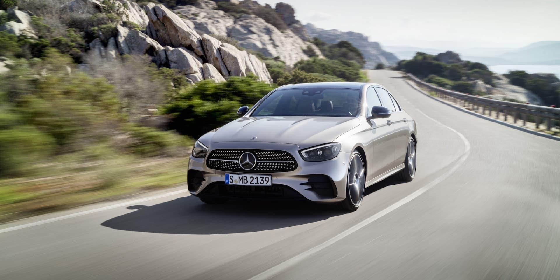 Mercedes-Benz E-Class saloon facelift 2020