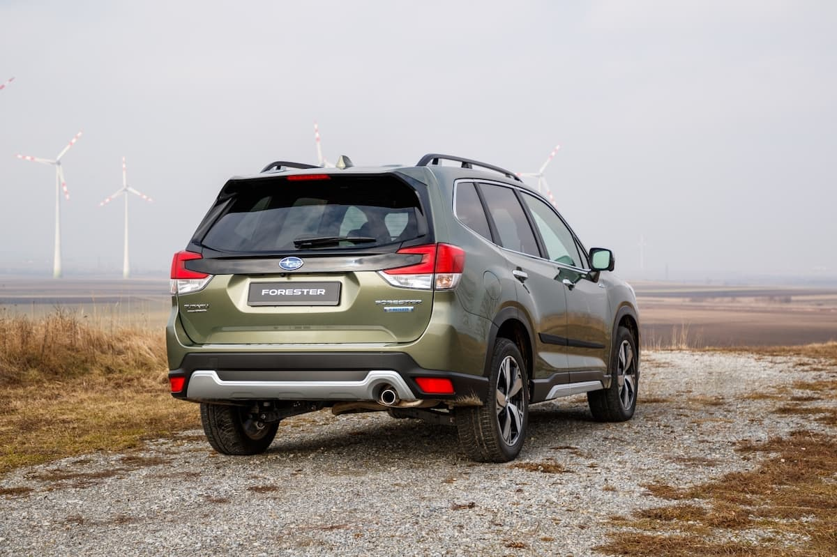 Subaru Forester review - rear