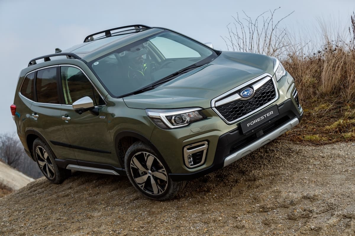 Subaru Forester review - front