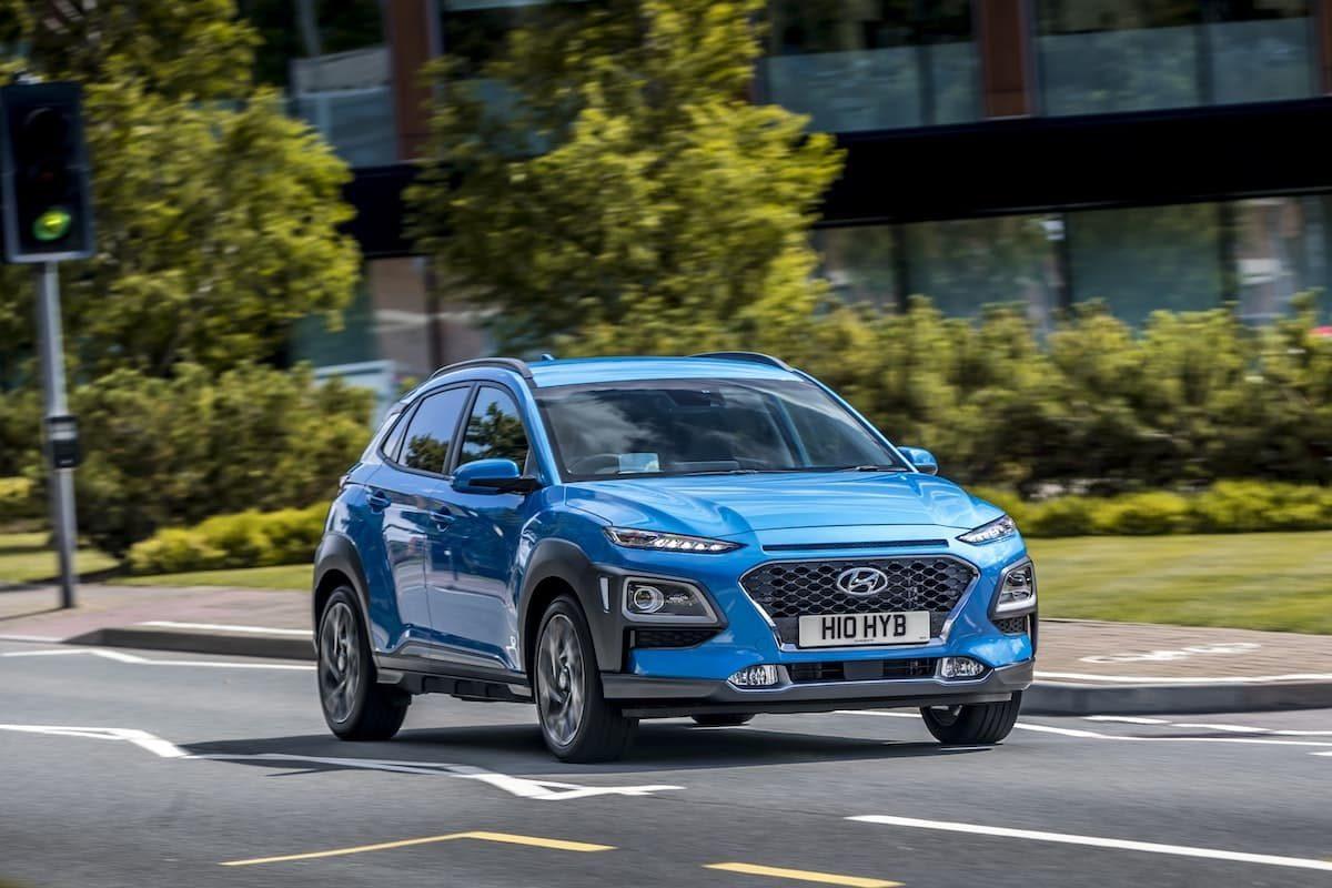 2020 Hyundai Kona Hybrid road test – front
